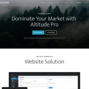 Altitude Pro Theme Package + Genesis Framework Package
