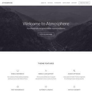 Atmosphere Pro Theme Package + Genesis Framework Package